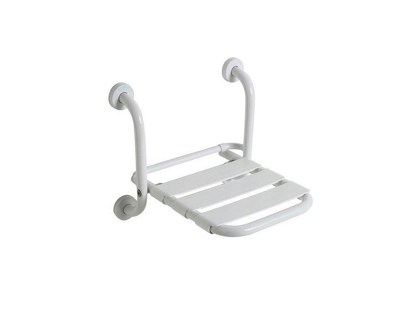 Sedile Doccia Per Disabili : Sicura sedile doccia ribaltabile bianco iperceramica