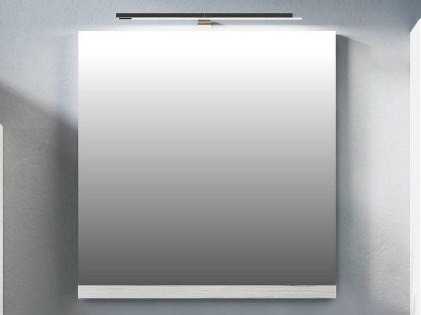 Smart specchio 74x61 5 altezza 2 larice bianco iperceramica - Altezza specchio ...