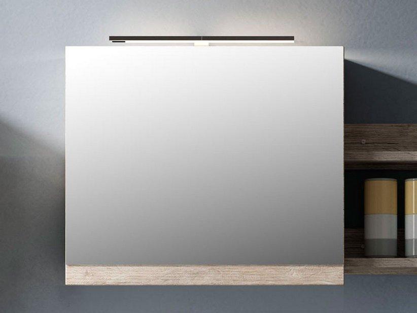 Smart specchio 59x61 5 altezza 2 natural oak iperceramica - Altezza specchio ...