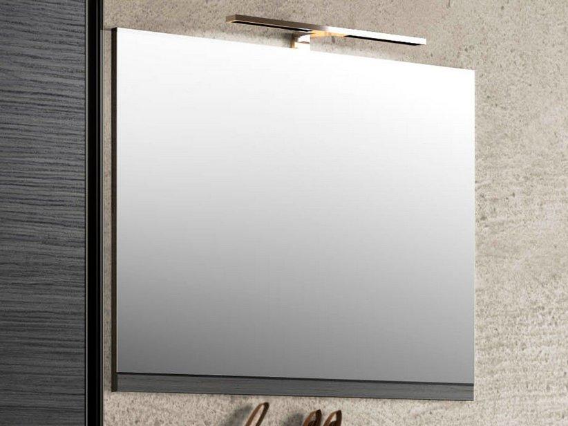 Smart specchio 74x61 5 altezza 2 larice nero iperceramica - Altezza specchio ...