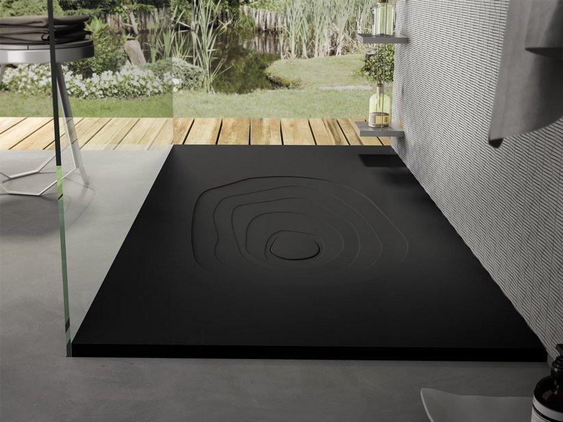 Piatto doccia splash 70x100 nero africa iperceramica - Piatto doccia nero ...