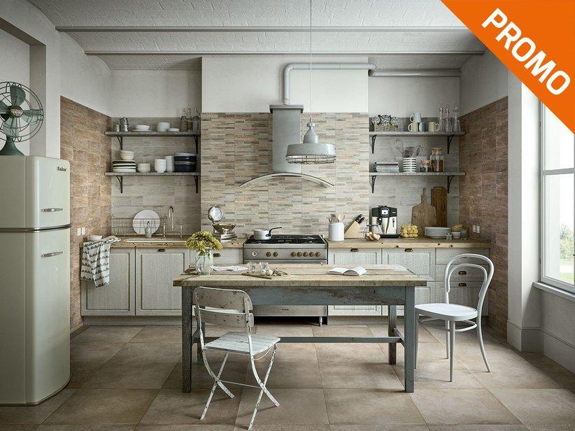 Rivestimento cucina in bicottura effetto legno taiga - Rivestimento in legno per bagno ...
