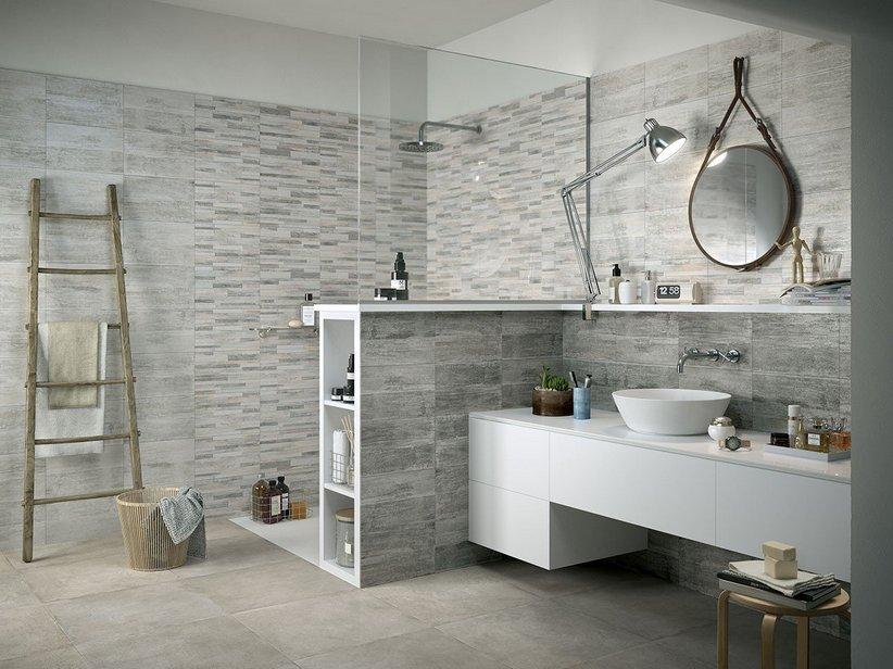 Piastrelle bagno mosaico doccia chakra bagno cedir for Piastrelle bagno mosaico grigio
