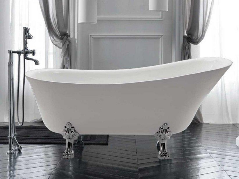 Vasca deco 1700x720 piedi inclusi iperceramica for Outlet vasche da bagno