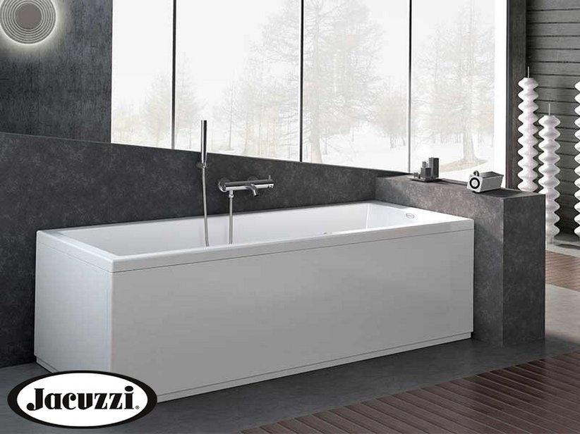 Jacuzzi moove vasca con telaio 170x70 iperceramica for Outlet vasche da bagno
