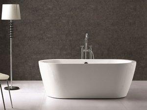 Vasca Da Bagno Libera Installazione : Freestanding vasca da bagno superficie solida vasca t in