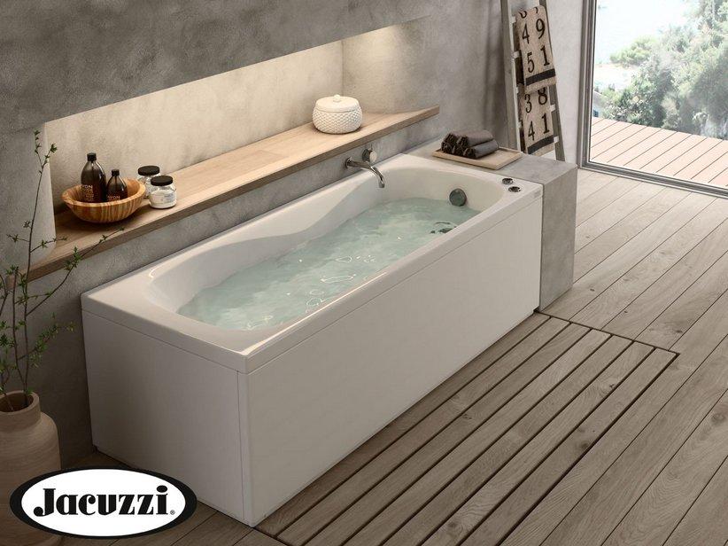 Jacuzzi soho vasca idro 170x70 sinistra pannello frontale - Vasche da bagno jacuzzi prezzi ...