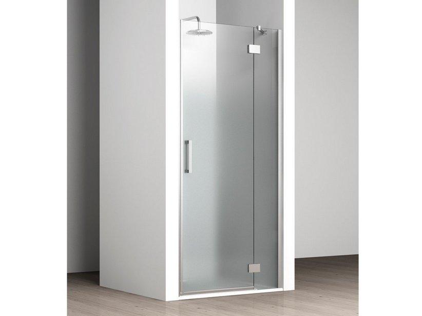 Vela porta nicchia destro 97 99 5 satinato iperceramica for Porta doccia nicchia prezzi