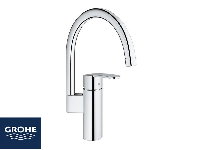 GROHE® WAVE COSMO HIGH KITCHEN TAP CHROME - Iperceramica