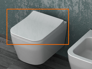 SEDILE WC WIKI SLIM SOFT-CLOSE BIANCO