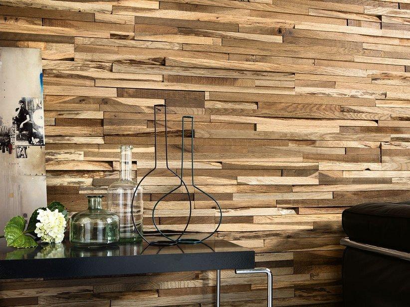 Rivestimento in legno maxilistello wonderwood oak for Rivestimento scale in resina prezzi