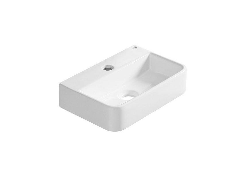 Lavabo mini zamora 9x26x39 ceramica iperceramica - Mini lavabo bagno ...