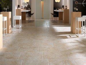 Gres porcellanato iperceramica for Pavimento esterno effetto pietra