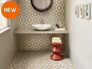 Rivestimenti bagno iperceramica - Cementina bagno ...