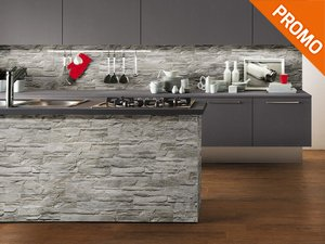 Cucine moderne effetto pietra la scelta giusta variata for Piastrelle wow