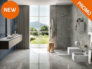 Rivestimenti bagno iperceramica - Rivestimento bagno effetto marmo ...