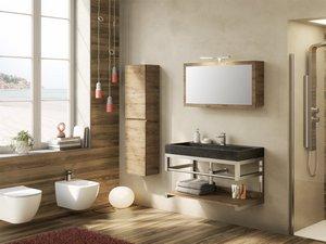 Arredo bagno idee per l 39 arredamento del bagno iperceramica for Mobiletti piccoli da bagno