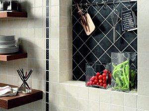 Piastrelle In Pietra Per Cucina : Rivestimenti cucina iperceramica