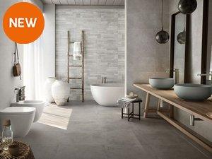 Rivestimenti bagno iperceramica - Pavimento e rivestimento bagno uguale ...