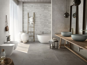 Bagno effetto marmo e legno rivestimento bagno effetto marmo