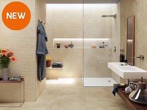 Rivestimenti bagno iperceramica - Come rivestire il bagno ...