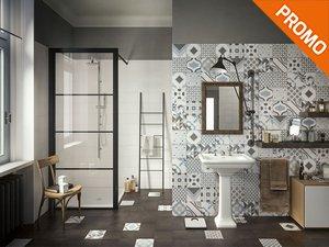 Rivestimenti e piastrelle per un bagno da sogno iperceramica - Cementina bagno ...