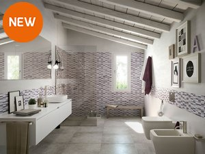 Rivestimenti e piastrelle per un bagno da sogno iperceramica - Iperceramica rivestimenti bagno ...