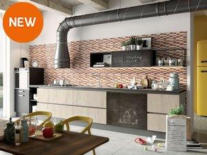 Rivestimenti e piastrelle per la cucina iperceramica - Mattonelle per cucina prezzi ...