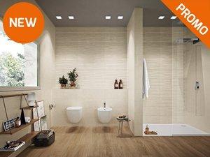 Rivestimenti bagno rendi unico il tuo bagno iperceramica - Piastrelle effetto roccia ...