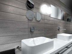 Rivestimenti bagno iperceramica - Gres porcellanato bagno moderno ...