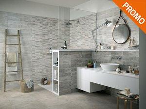 Piastrelle bagno grigio chiaro perfect piastrelle bagno grigio