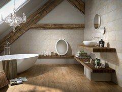 Rivestimenti bagno iperceramica - Rivestimento bagno rustico ...