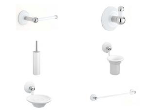 Accessori bagno iperceramica for Portasalviette bagno design