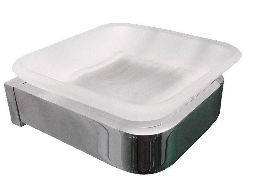 Accessori Bagno A Muro : Kaitlin porta sapone cromo iperceramica