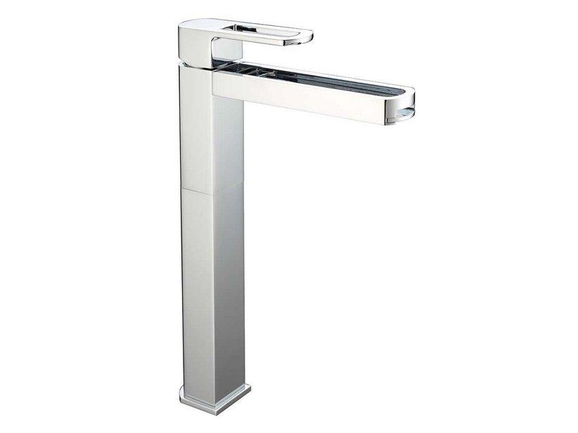 Infinity cascade monocomando lavabo alto cromo iperceramica - Rubinetteria a cascata bagno ...