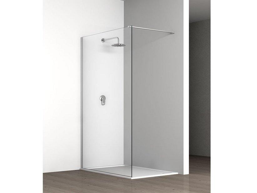 Klaro walk in a muro cm 68 70 5 cromo iperceramica - Accessori doccia ikea ...