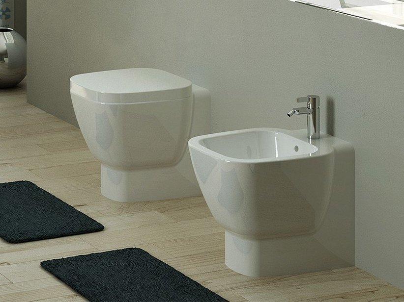 oslo wc filo muro multi a terra iperceramica. Black Bedroom Furniture Sets. Home Design Ideas