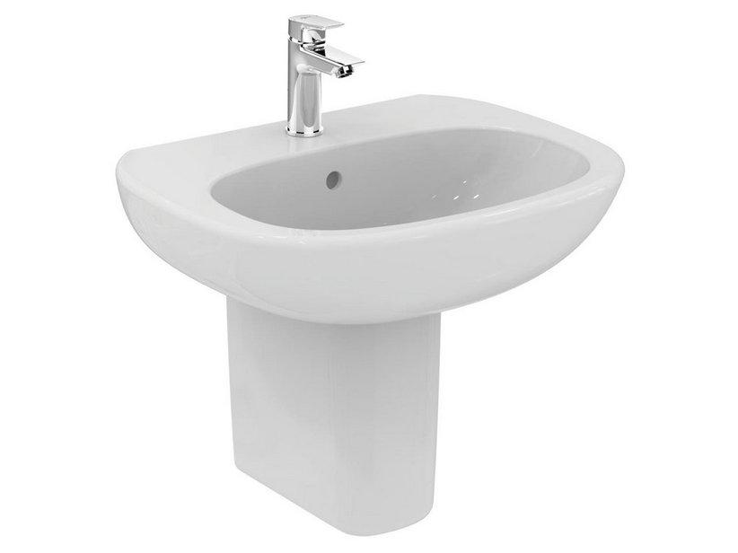 Tesi 2016 lavabo monoforo bianco europeo iperceramica for Sanitari ideal standard tesi